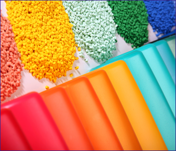 Different Colors of Molding Material